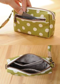 Latest Photo Sewing patterns purse Strategies Good Idea Coin Purse - Bag PDF Sewing Pattern - with Sewing Tutorials by niizo Difficulty: ★ ★ Sewing Stitches, Sewing Patterns Free, Free Sewing, Bag Patterns, Sewing Basics, Sewing Hacks, Sewing Tutorials, Sewing Tips, Sewing Ideas