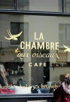 Where to brunch in Paris? Cafe Bistro, Cafe Bar, Boutiques, Deco Cafe, Resto Paris, French Cafe, Lokal, Cafe Shop, I Love Paris