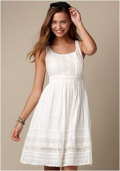 68c67c4195 160 simple summer wedding dresses 2017 trends and ideas (5) White Eyelet  Dress
