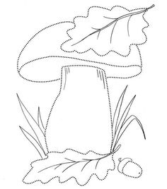 Tulip pattern. Use the printable outline for crafts ...