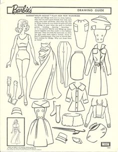 Barbie's drawing guide