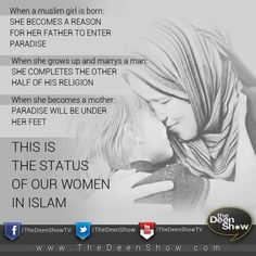 The value of women in Islam Still Love Her, I Love My Wife, True Quotes, Great Quotes, Value Of Women, Mother Daughter Art, Islam Women, Dear Self, Having Patience