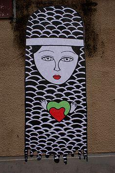Collage Fred Le Chevalier / Rue des Pyrénées 75020 Paris