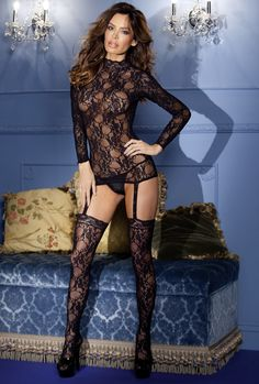 Super Sexy Lace Bodystocking | Spurst.com