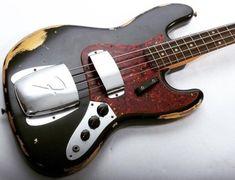 The World of the Bass Guitar A Fender Custom Shop Heavy Relic Bass