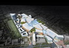 The Mall of Guadalajara, #Mexico. This future shopping destination will be the first in the world with a park inside! #amazingarchitecture #architecture #retailarchitecture #shoppingmall