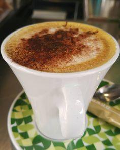 La importancia de los detalles... Un café con detalle en @coffee_and_food!  Gracias @pablitosonrisas!