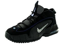 47d519abdc8f Nike Kids Air Max Penny Le GS BlackWhiteGM RylMtllc Slvr Basketball Shoe 55  Kids US    Find out more about the great product at the image link.