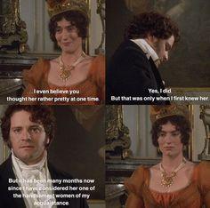 That's a burn Jane Austen Movies, Mr Darcy, Classic Literature, Classic Books, Best Novels, Single Men, Pride And Prejudice, Period Dramas, English