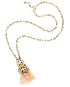 Sparkling Sage 14K Plated Pendant is on Rue. Shop it now.