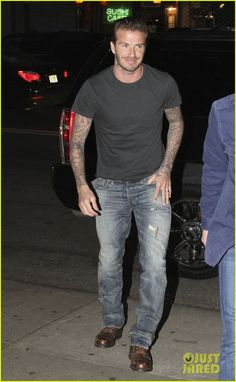 David Beckham: Bringing Professional Soccer to Miami? | newly retired david beckham has lunch dinner in nyc 02 - Photo