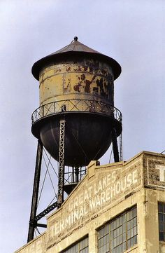 old water tower - we still have standing in darlington ,