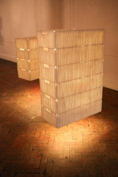 Eco Luminaire - Luminárias feitas com materiais recicláveis.