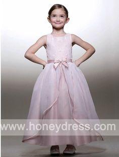 A-line #Scoop #Organza Ankle-length #Junior #Bridesmaid #Dresses 04865  $75.70  Find it here.... http://honeydress.com/b/a-line-scoop-organza-ankle-length-junior-bridesmaid-dresses-04865.html?utm_source=SNS%5FSource_medium=SNS%5FPinterest_term=Pinterest_campaign=Pinterest%5FPost_nooverride=1...