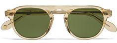 Garrett Leight acetate sunglasses