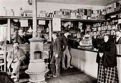 """""""The Barnett Mercantile had everything. Its shelves, counters, and floor space boasted items from ladies' ribbons to burlap bags of seeds; from babies' bottles to brand-new potbellied stoves. […] The counter had a glass top, and beneath the glass were handguns artfully displayed on a bolt of red velvet."""" – Ch. 5 ROLL OF THUNDER, HEAR MY CRY.. Freebie, handouts, activity ideas at https://litwits.com/roll-of-thunder-hear-my-cry/"""