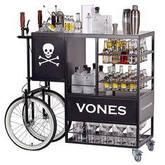 VONEStagecoach es un carro de coctelería muy estético enfocado al servicio de combinados, especialmente VONES&TONIC.  #VONESBoutique #VONEStyle