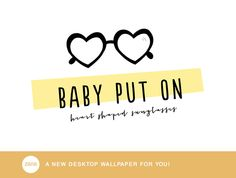 Something Fresh for Your Desk – Wallpapers Handwritten Type, Heart Shaped Sunglasses, Cape Town South Africa, Kitty Wallpaper, Bold Colors, Fun Things, Desk, Wallpapers, Songs