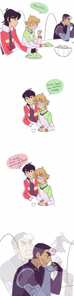 Keith | Shiro | Pidge