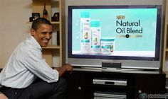 Mirta De Perales Natural Oil Blend TV Commercial watch live Obama