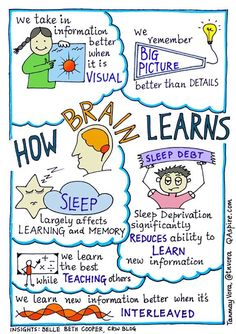 Sketchnotes – Tanmay Vora - Page 3 Brain Based Learning, Learning Theory, Kids Learning, Learning Styles, Classdojo For Parents, Brain Gym, Brain Food, Executive Functioning, Learning