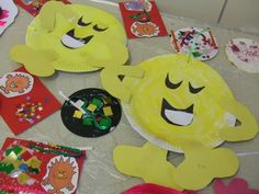 CRAFTY CREATURES - Art and Craft Events, Birthday and Craft Parties, North East England: The Mr Men, The Mr Men...