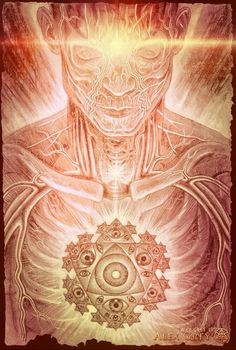 Invocation and Prayer ☽ Navigating the Mystery ☽ Mystic Eye by Alex Grey Alex Grey Tattoo, Alex Gray Art, Statues, Tenacious D, Mystic Eye, Grey Artist, Visionary Art, Psychedelic Art, Amazing Art