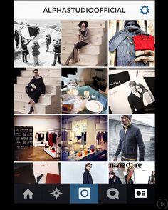 Join #AlphaStudio on #Instagram!  #tricot #knitwear #knit #knitting #wool #cashmere #menswear #mensfashion #style #fashion #fashionbrand #womenswear #womensfashion #alpaca #merinos