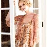 LACE JACKET  Vogue Knitting Spring/Summer 2010 #2 design by Sharon Sorken  Oversized lace jacket with drop shoulders and deep V-neck.