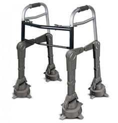 The AT-AT Walker, walker. Just make sure to keep your good eye peeled for any rebel snowspeeders trailing long spools of wire