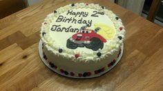 Chuck the Dump Truck cake that I made.