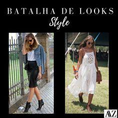 BATALHA DE LOOKS  ESTILO HI-LO X ESTILO BOHO Hi Lo, Estilo Boho, Looks Style, Photo And Video, Videos, Instagram, Battle