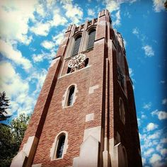 Beaumont tower - i loved hearing the bells ringing as i waited on my class in the music building