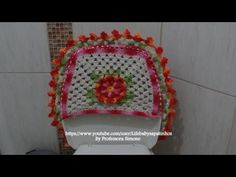 Jogo de Banheiro Outono- PARTE-2 Costas tampa do vaso