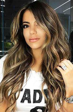 Highlights For Dark Brown Hair, Brown Blonde Hair, Sandy Blonde, Black Highlighted Hair, Blonde Highlights On Dark Hair All Over, Dark Brown Highlights, Brunette Highlights, Short Blonde, Long Dark Hair