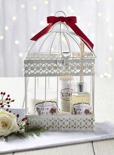 Winter rose fragrance gift set