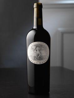 Harlan Estate Wine Package Design by Pate International Cabernet Sauvignon, Sauvignon Blanc, Beer Label Design, Wine Design, Bottle Design, Wine Bottle Labels, Liquor Bottles, Wine Bottle Crafts, Chenin Blanc