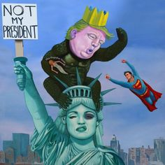 Michael Forbes' Trump painting