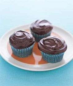Secret-Ingredient Devil's Food Cupcakes | Addicted to chocolate? Try one of these sweet treats.