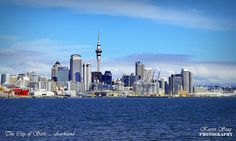 The city of Sails, Auckland.