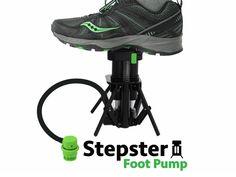 Taggio Pro Stepster: Portable Foot Pump