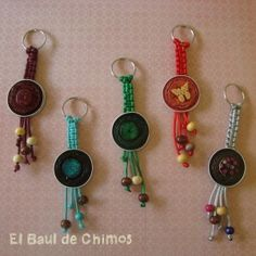 Key rings and crochet