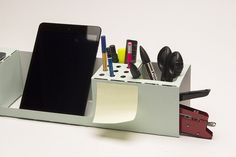 Simplify Your Workspace with this Foldable Desk Organizer