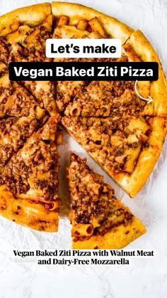 Vegan Foods, Vegan Snacks, Vegan Dishes, Vegan Vegetarian, Vegetarian Recipes, Cooking Recipes, Pizza Recipes, Vegan Pizza Recipe, Vegan Dinner Recipes