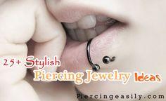 Stylish Piercing Jewelry Ideas