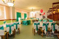 Оформление свадебных залов в Жлобине. Студия праздничного декора «БАРБАРИС»