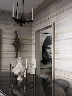 Appartement Paris, décorateur Jean-Louis Deniot © Magnus Marding (AD n°114 février-mars 2013)