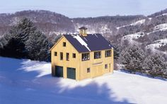 The Hartford Carriage House is designed to look like a classic New England barn. The 26-ft x 38-ft frame creates ample space to store two or three vehicles. The second level has a full 8-ft kneewal...