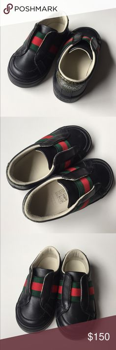 Baby Gucci Shoes Adorable and elegant baby shoes size 21. Worn only once around the house and just for couple of hours. Like new!. Gucci Shoes Dress Shoes