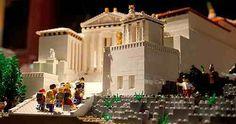 Acropolis made of Lego